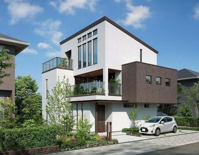 パナホームの3階建住宅『Vieuno3E』は、ZEHにもなかなか良さそう。